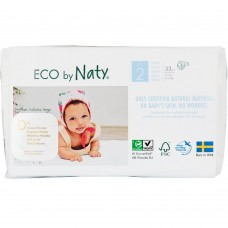 Naty Eco nappies Nature Babycare, size 2