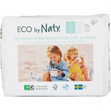 Naty Eco nappies Nature Babycare, size 3