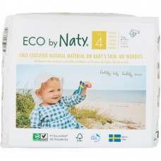 Naty Eco nappies Nature Babycare, size 4