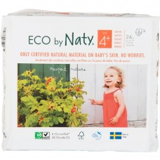 Naty Eco nappies Nature Babycare, size4+