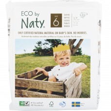 Naty Eco nappies Nature Babycare size 6