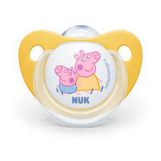 Nuk Disney Silicone Pacifiers Peppa 6-18 m
