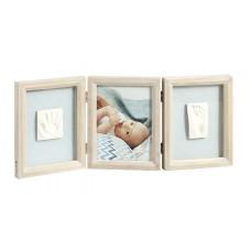 Baby Art Отпечатък за ръчичка и краче Classic, Светлосив