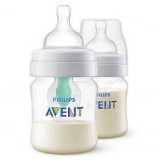 Philips Avent Anti-colic Baby Bottle with AirFree™ vent 125ml, 2pcs