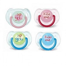 Philips Avent Orthodontic pacifiers 6-18 Months, I Love
