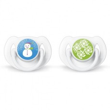 Philips Avent Orthodontic pacifiers 6-18 Months, Winter