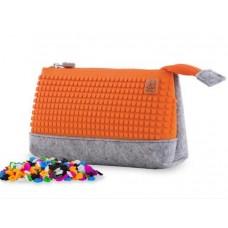 Pixie Crew School pencil case Orange