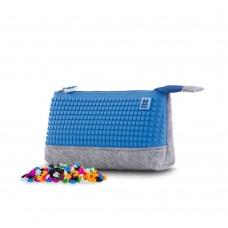Pixie Crew School pencil case Blue