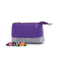 Pixie Crew School pencil case Purple