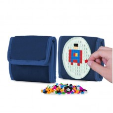 Pixie Crew Creative pixel Wallet Glowing Blue