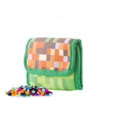 Pixie Crew Creative pixel Wallet Mine&Craft Green