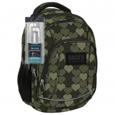 Back Up  School Backpack А10 Hearts