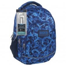Back Up  School Backpack A 8 Aqua