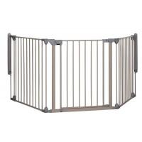 Safety 1st Модулна метална преграда с 3 модула, Сива