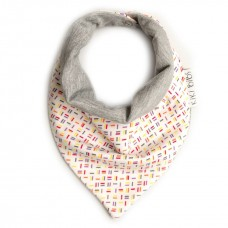 Bandana Bib Sticks grey
