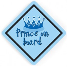 Mycey Prince On Board Sign