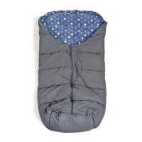 Cangaroo Cuddle Footmuff for strollers Blue - Grey