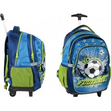 PASO Rolling Backpack Football