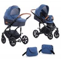 Zippy Бебешка количка 2 в 1 Tutis Viva Life Blue Indigo