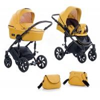 Zippy Бебешка количка 2 в 1 Tutis Viva Life Yolk Yellow