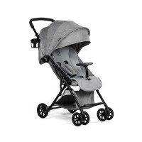 KinderKraft Лятна бебешка количка Lite Сива