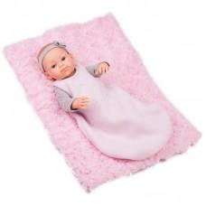 Paola Reina Кукла Бебе Rosa с постелка