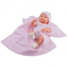 Paola Reina Кукла Бебе Mantita Rosa