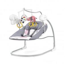 KinderKraft Minky Baby Swing Pink
