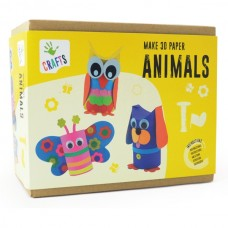 Andreu Toys Make 3D Paper Animals