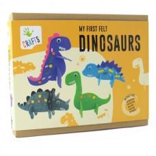 Andreu Toys My First Felt Dinosaurs