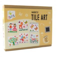 Andreu Toys Magnetic Tile Art