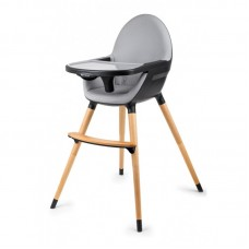 KinderKraft Столче за хранене Fini 2 в 1 черно