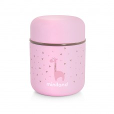 Miniland Silky food thermos 280 ml Pink