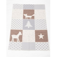 David Fussenegger Lena Cot Blanket, Organic Cotton