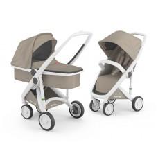 Бебешка количка Greentom Classic 2 в 1, Sand