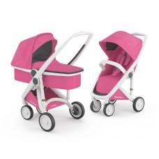 Бебешка количка Greentom Classic 2 в 1, Pink