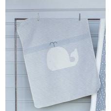 David Fussenegger Baby Blanket Juwel 70х90 Whale