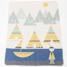 David Fussenegger Baby Blanket Juwel