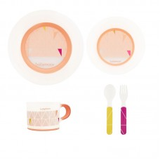 Babymoov My first dinnerware set Peach