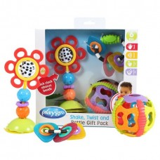 Playgro Baby Shake, Twist, and Rattle Pack for baby