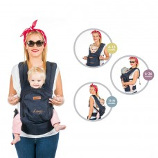Chipolino Baby carrier Hippy blue jeans