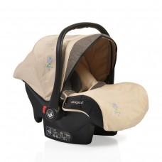 Cangaroo Детско столче за кола 0-13 кг с адаптори Stefanie бежово
