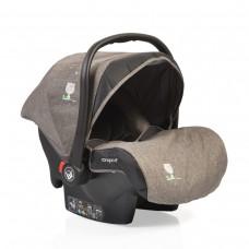 Cangaroo Детско столче за кола 0-13 кг с адаптори Stefanie сиво