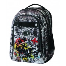 School Backpack 2 in 1 Subway