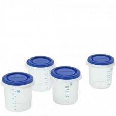 Miniland Комплект 4 контейнера сини