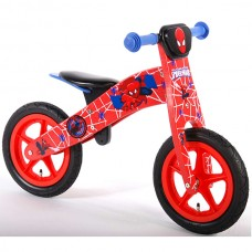 E&L cycles  Ultimate Spider-Man wooden balance bike 12 inch