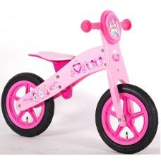 E&L cycles Disney Princess wooden balance bike 12 inch