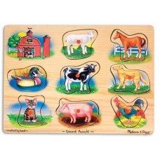 Melissa & Doug Sound Puzzle Farm
