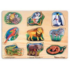 Melissa & Doug Sound Puzzle Zoo