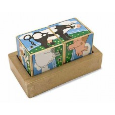 Melissa & Doug Blocks Set - Farm